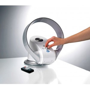 Image of Termoventilatore 1200 W tavolo DCG VEHL35TW senza pale caldo freddo telecomando 7106892899944