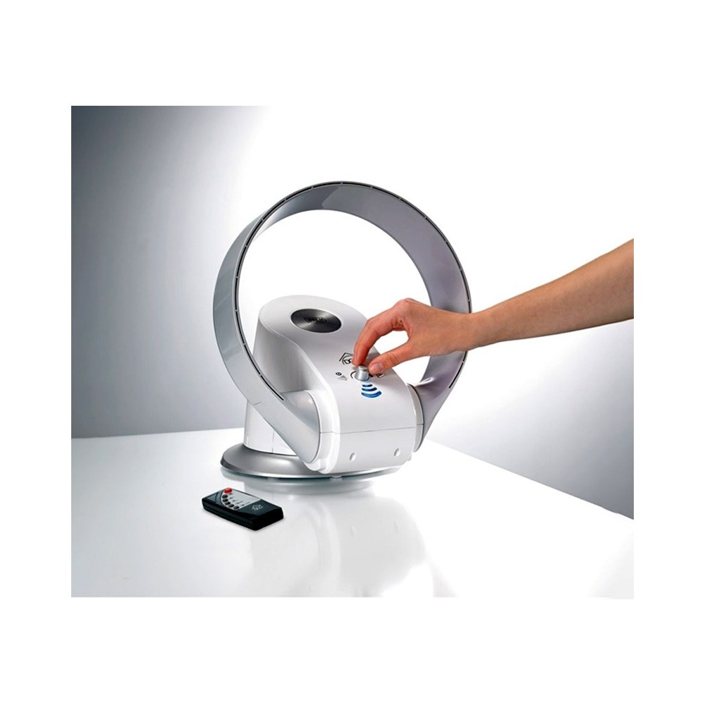 Termoventilatore 1200 W tavolo DCG VEHL35TW senza pale caldo freddo telecomando