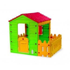 Casetta gioco 219591 MY FARM HOUSE da interno ed esterno 127x118x142 cm