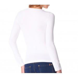 Image of Pack 5 maglie termiche VKA25 interno felpato ass. LISA scollo a V da donna 7106891988878