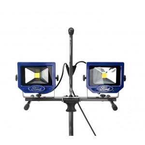 Due fari 20W a led FWL-1003 FORD da lavoro con stand incluso luce chiara