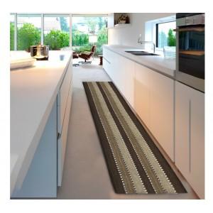 Tappeto mod. STRIPES 55x230 cm 100% cotone 184042 ideale per bagno e cucina