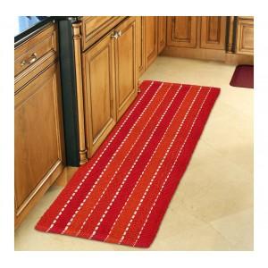 Tappeto mod. STRIPES 50 x 140 cm 100% cotone 184028 ideale per bagno e cucina