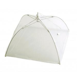 Coprivivande salvaspazio ad ombrello 4349 richiudibile colore bianco 40 x 28 cm