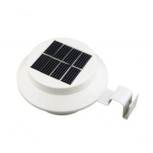 Faretto led con pannello solare 3 watt 3 led 4370 da esterno segnapasso batteria