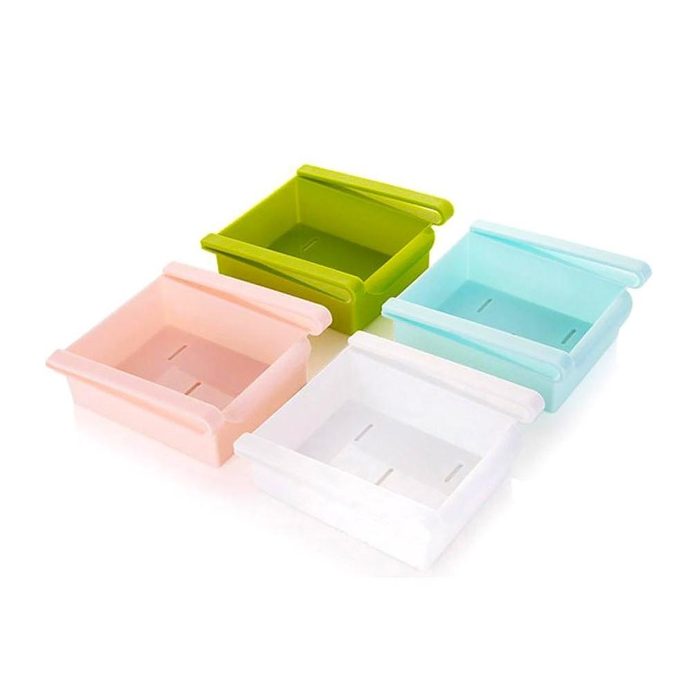 Cassetto organizer per ripiani frigorifero 4348 vari colori 12 x 15 x 5,7 cm