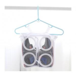 Borsa a rete per lavaggio scarpe 4368 in lavatrice 28.4 x 27 x 10 cm