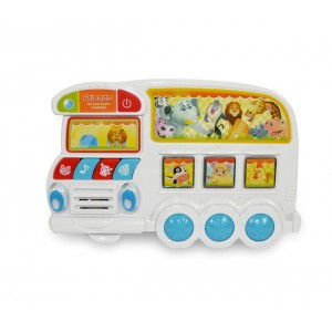 Gioco interattivo per bambini ANIMAL BUS 6806 riproduce i versi degli animali