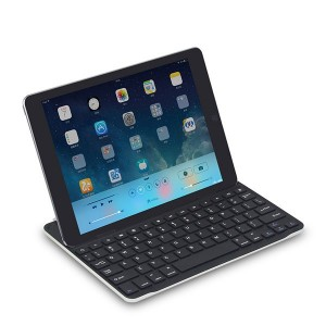 IPAD AIR 1 - 2 Custodia in Alluminio slim Tastiera Bluetooth 3.0 Ultrasottile