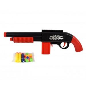Fucile a pompa giocattolo BUBLE BULLET GUN 358801 con proiettili inclusi