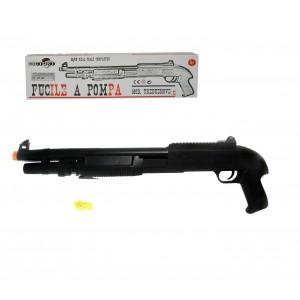 Fucile a pompa giocattolo 038710 IN SCALA 1:1 con proiettili a pallini inclusi