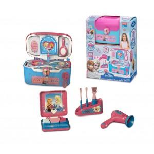 Beauty case studio DISNEY FROZEN salone di bellezza portatile con 21 accessori