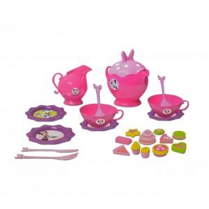 Servizio da tè completo di MINNIE 8422 con accessori e dolcetti