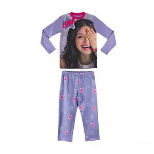Pigiama bambina manica lunga 22-1722 Soy Luna Disney 100% cotone 6-8-10-12 anni