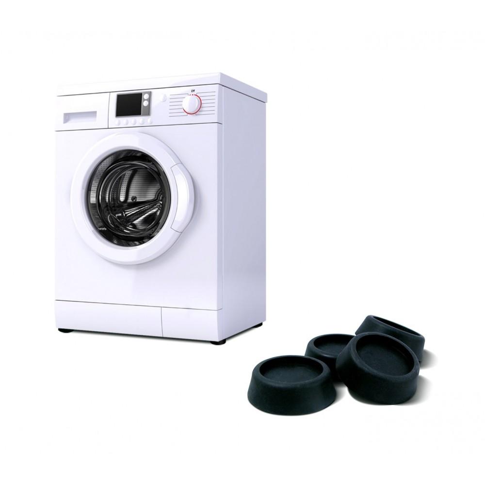 Set di 4 gommini ammortizzanti 370650 per lavatrice ed asciugatrice ø 5,5 cm