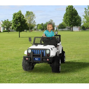 Macchina elettrica LT863 per bambini JEP SPORT 4 ruote motrici sedili in pelle