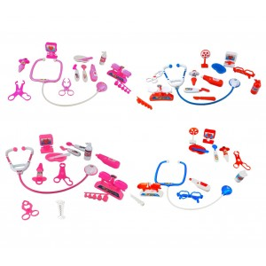 Playset dottore in quattro varianti 4676 include 13 fantastici accessori