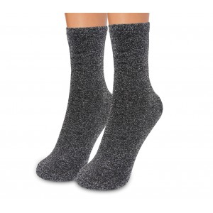 DSW Pack da 3 paia di calzini a rete ass. FANCY neri alla caviglia taglia unica