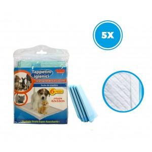 Tappetini igienici per cuccioli 627336 super assorbenti da 30 pz PET SITTER
