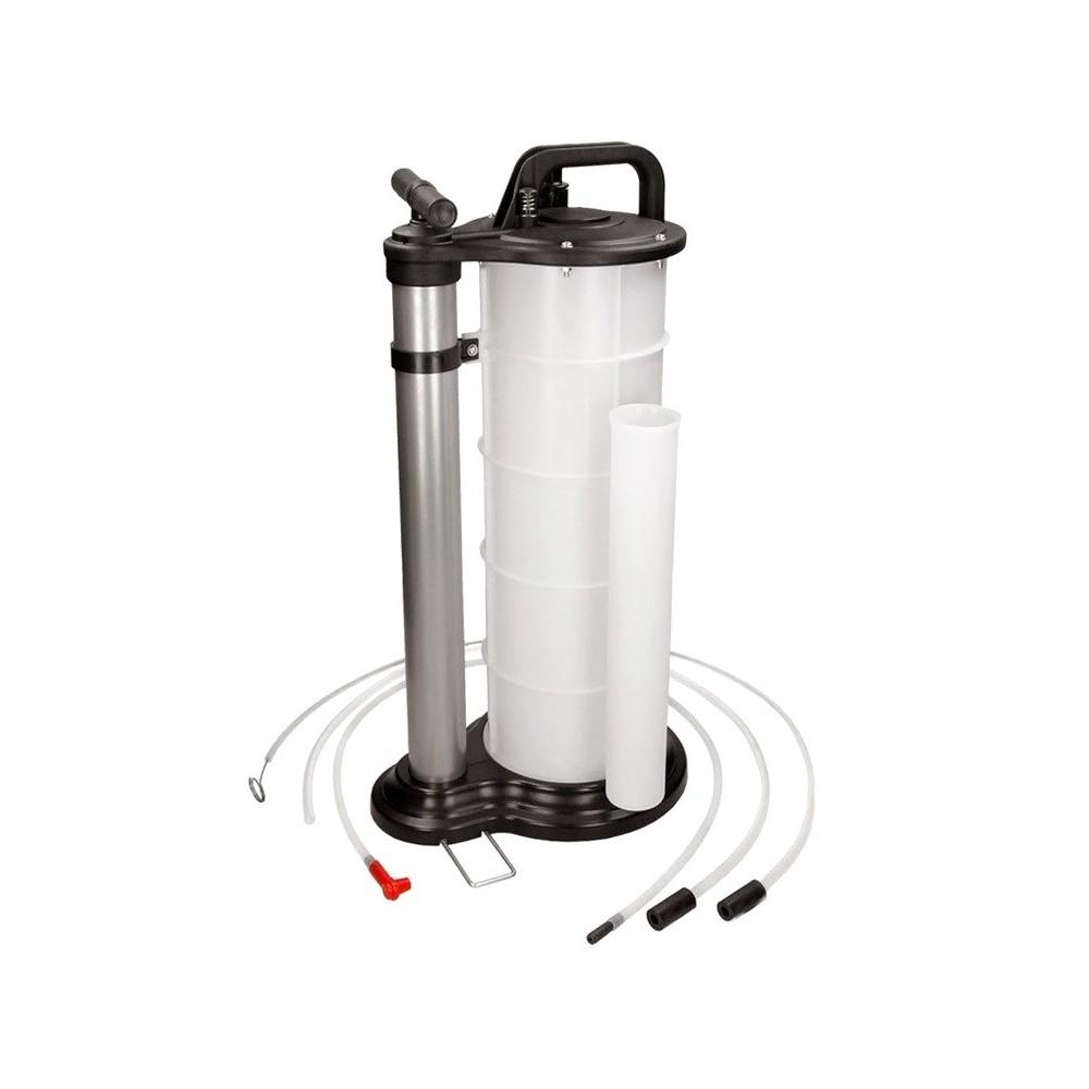 Pompa aspirazione fluidi pneumatica e manuale 9 litri  ST-3502 Starkemunich