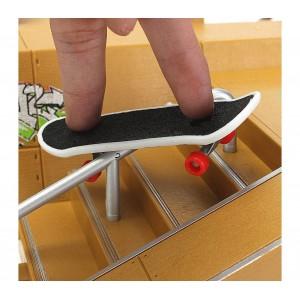 Playset mini skate park componibile 4485 con mini skatboard da dita inclusi