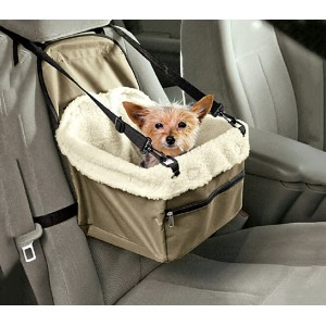 Trasportino per animali da auto 4478 con cinghie di sicurezza e trapunta interna