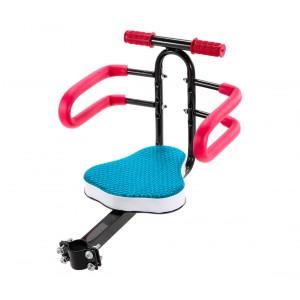 Image of Seggiolino anteriore per bambini da bicicletta 4484 con morbida seduta max 30 kg 8435524505045