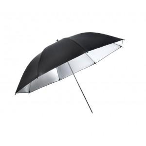 Kit ombrelli fotografici con lampade 4493 interno in alluminio riflettente