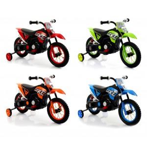 Motocicletta elettrica LT876 per bambini MOTO CROSS BABY ruote gonfiabili