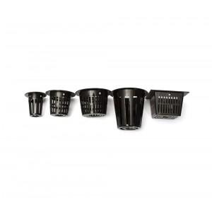 Set di 10 cestini per coltivazione idroponica 4481 varie dimensioni e  forme