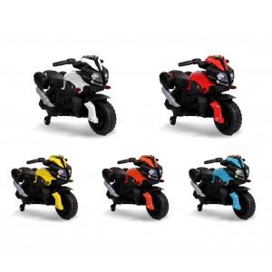 Motocicletta elettrica LT875 per bambini MOTO SPEED con luci e suoni realistici