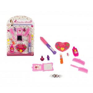 Set gioco bambina 104559 SALONE DI BELLEZZA BIMBA BELLA spazzole e make up