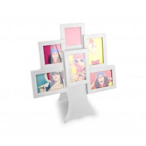 Image of Portafoto cornice 880730 forma ALBERO 36 x 40 con cornici diverse misure 8435524500088