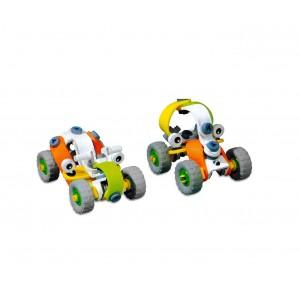 Image of Playset macchinine BUILD AND PLAY CIGIOKI 200070 da assemblare doppio modello 8435524500163