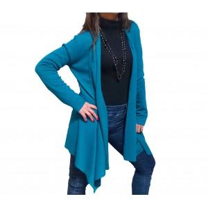 Cardigan donna tessuto leggero ottima vestibilità