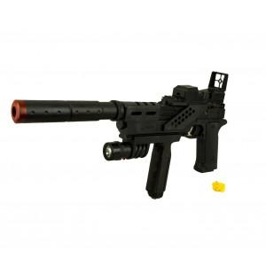 Fucile giocattolo CIGIOKI SY239C con proiettili luce e silenziatore 6 mm