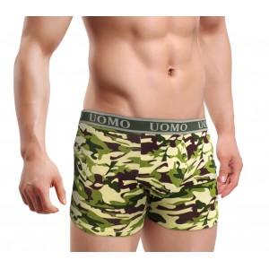 Image of Boxer da uomo intimo mod. CAMOUFLAGE PT6809 taglie disponibili dalla M alla XXXL 8435524500729