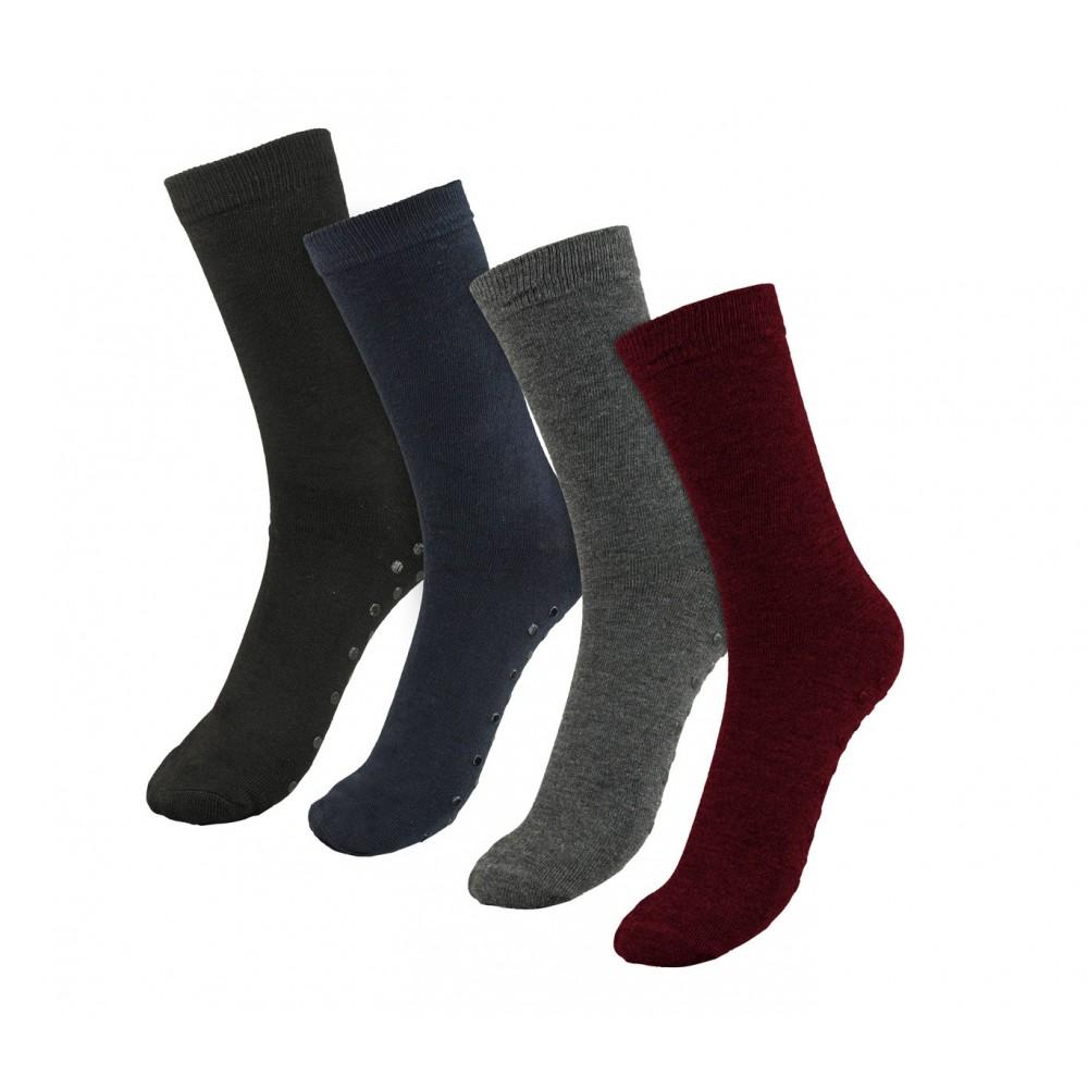 Pack 3 calzini donna mod. VERA con antiscivolo LT-1921A tg unica dal 35 al 40