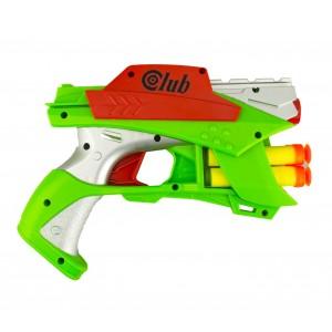 Image of Pistola giocattolo 287996 SOFT BULLET GUN con 4 dardi morbidi gioco d'azione 8435524501740