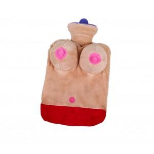 Image of Borsa acqua calda 748997 sexy in peluche seno in 3D addio nubilato celibato 8435524502167