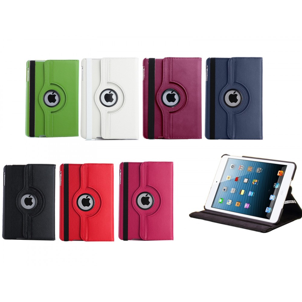 Cover custodia Ipad Mini apple compatibile eco pelle rotante 360 gradi Business