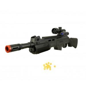 Fucile giocattolo ES-M168 CIGIOKI puntatore laser e pallini inclusi