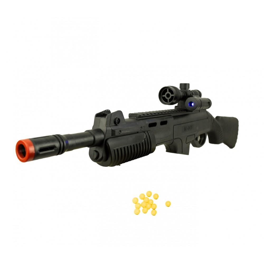 Fucile giocattolo ES-M168 CIGIOKI 335086 con puntatore laser e pallini inclusi