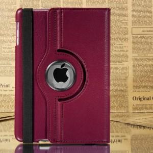 Image of Cover custodia Ipad Mini apple compatibile eco pelle rotante 360 gradi Business 8435524507285