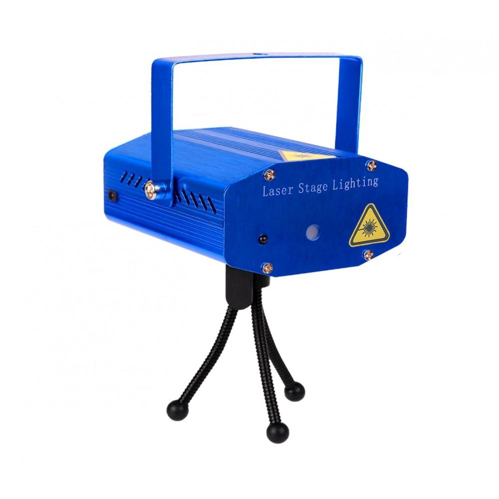 Proiettore laser 560899 NATALIZIO 6 effetti di luci con treppiede da esterno