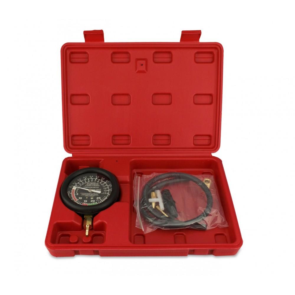 Manometro per pompa carburante 4505 FUBUCA tester universale vacuometro