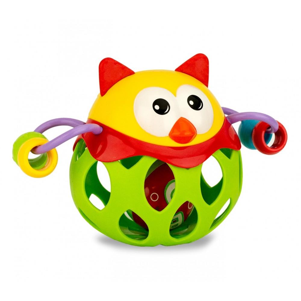 Baby sonaglino RICCIO CIGIOKI gioco educativo colorato adatto dai sei mesi
