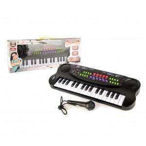 Tastiera elettronica giocattolo 101045 con microfono 32 tasti e tante melodie
