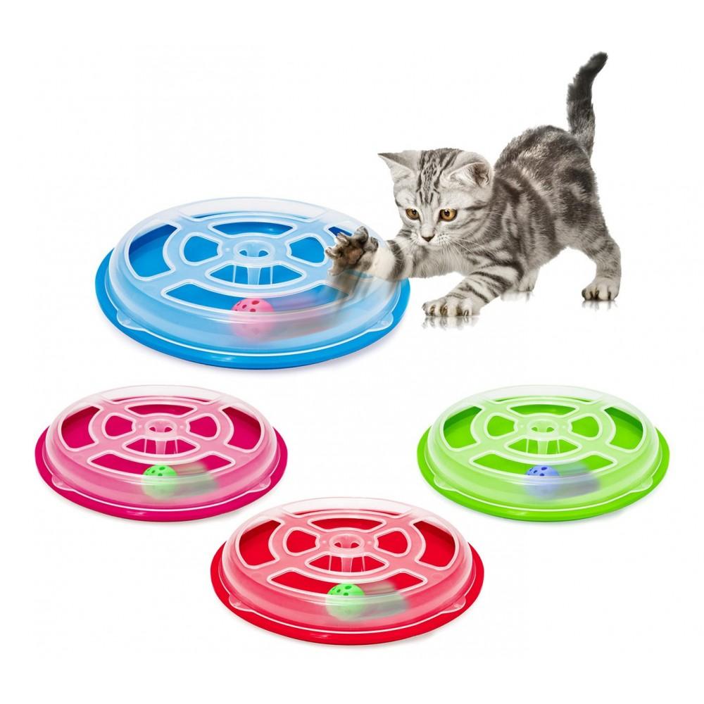10592 Gioco interattivo per gatti VERTIGO con pallina base antiscivolo ø 29,5cm