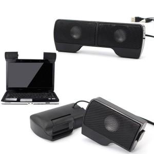 Image of Mini casse speaker USB per laptop pc 6 W regolazione volume jack 3.5 mm 8012387601239